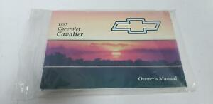 Owners-Manual-1995-CHEVY-CAVALIER-95-FREE-SHIPPING