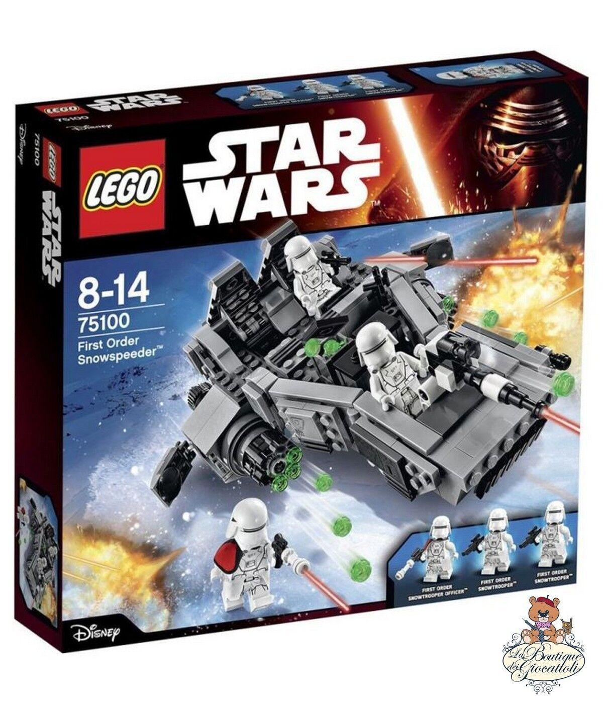 Lego Star Star Star Wars - First Order Snowspeeder 75100 4ff43f