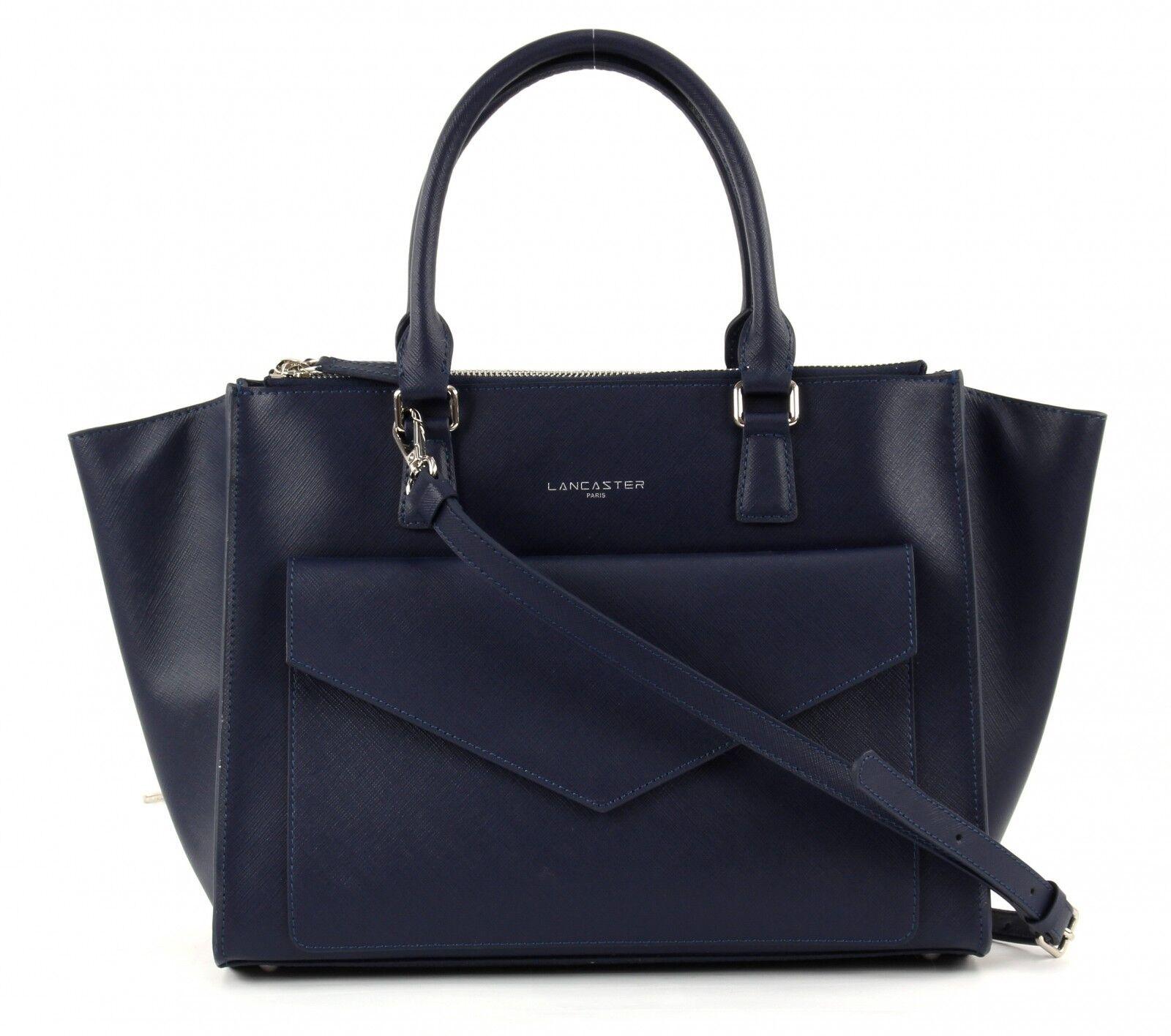 LANCASTER Adèle Handbag Tasche Schultertasche Handtasche Blau Blau Blau Blau Fonce Damen | Charmantes Design  | Zürich Online Shop  | Zuverlässiger Ruf  f9f03f