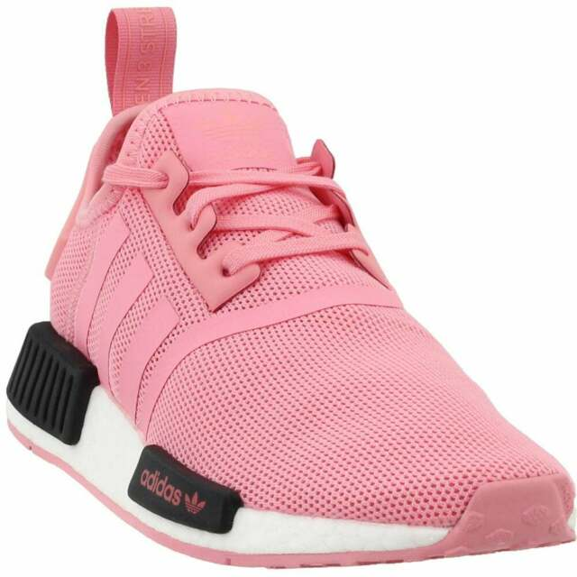 adidas NMD_R1 Junior Sneakers Casual   Sneakers Pink Boys - Size 5 M