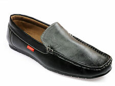 Vedano Black Leather Formal/Casual Party Wear Shoes