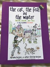 children's book in hindi, The Cat the Fish and the Waiter