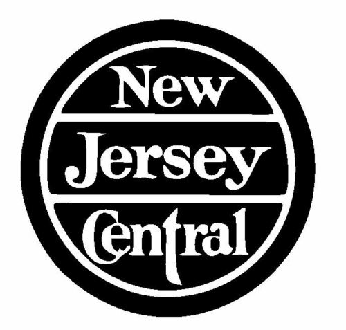 New Jersey Central Railroad Sticker Decal R4912 Railway Train YOU CHOOSE SIZE