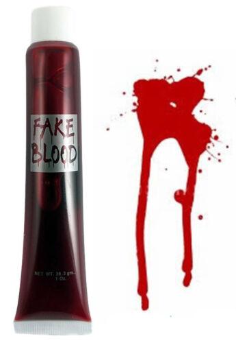 DRACULA FANGS HALLOWEEN CAPS TEETH FAKE BLOOD ADHESIVE FANCY THEME DRESS