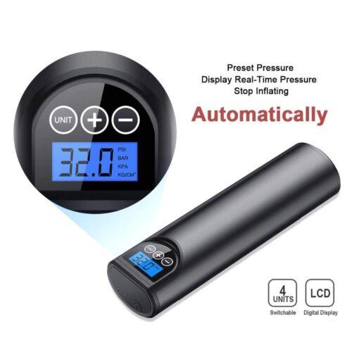 rechargeable air pump  inflator for car//bike//balls  portable 12V 150PSI digital