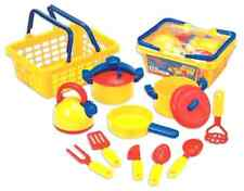 Pretend Play Dishes Pots And Pans Kitchen Toys Set Children Cookware Educational