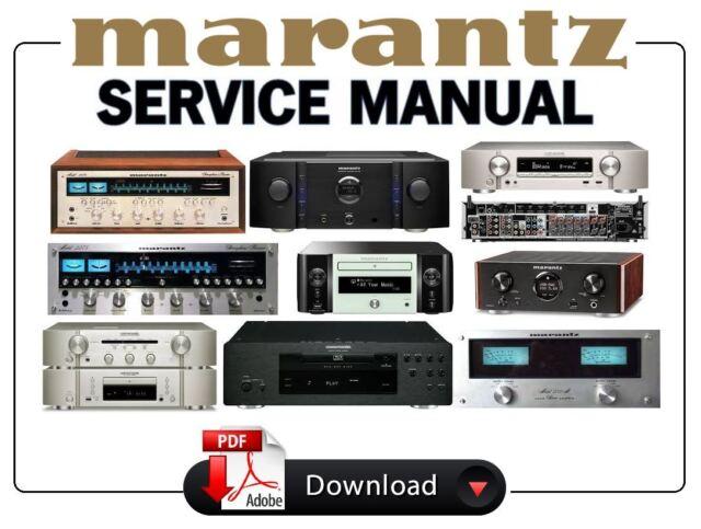 Marantz Sr580 Manual receiver