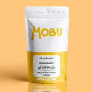 MOBU Daily Multivitamins - 360 Tablets One a Day Essential Nutrition 100% RDA