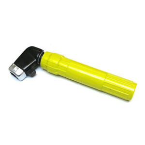 600 amp Twist Type Electrode Welding Rod Holder for MMA Stick Welding Yellow