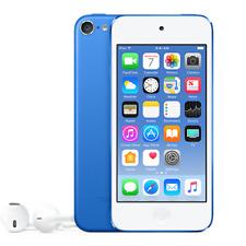 "New Apple iPod Touch 32GB 4"" 8MP VGA 6th Generation BLUE"