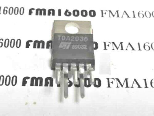 LOT DE 2Pcs 2X   TDA2030  TO-220-5 ST