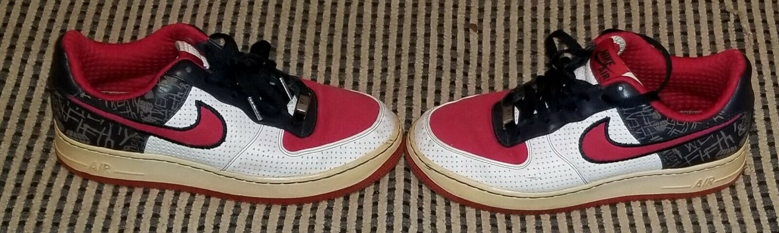 VTG 2006 Nike Air Force 1 Low XXV Anniversary 82' North Philly 8.5m Diamond St.