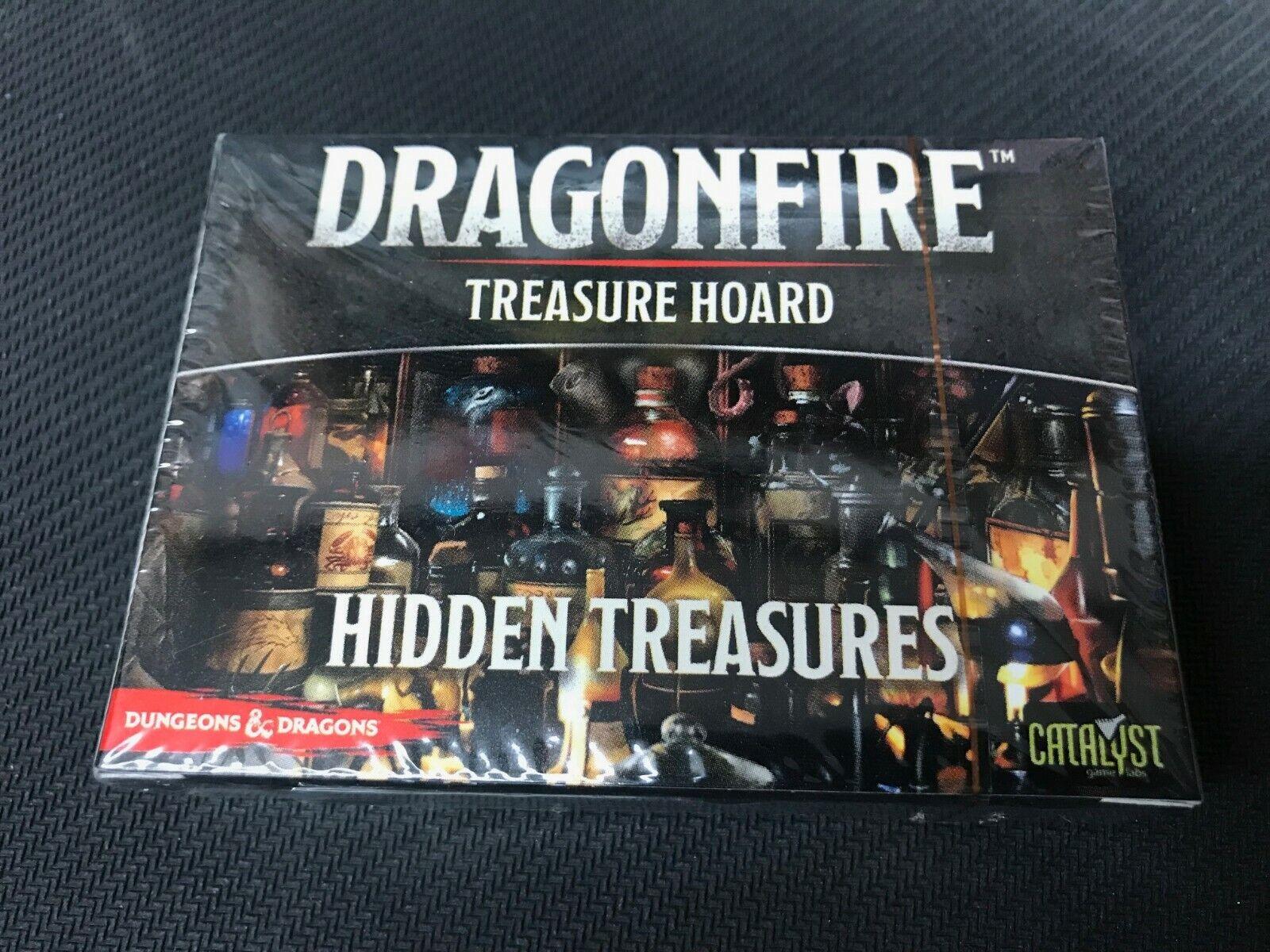 Dungeons & Dragons Dragonfire tesoros escondidos paquete sellado de fábrica   ccghouse