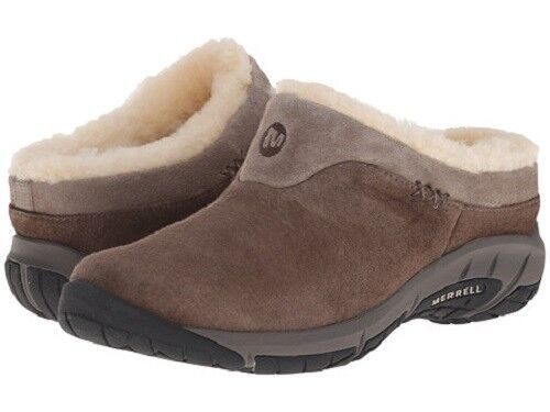 Dwelling palm study  Merrell Women's Encore Ice Slip On Shoes fur lined sheepskin clog for sale  online