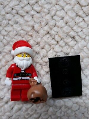 Lego Santa Claus from set 40223 Snowglobe Father Christmas Minifigure NEW hol082
