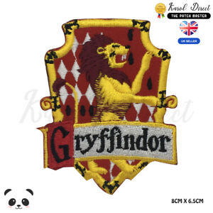 Harry-Potter-Gryffindor-Movie-Comics-Embroidered-Iron-On-Sew-On-Patch-Badge