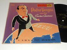 """PEDRO VARGAS 10"""" Tenor Canta Canciones Americanas MKL 3064 RARE"""