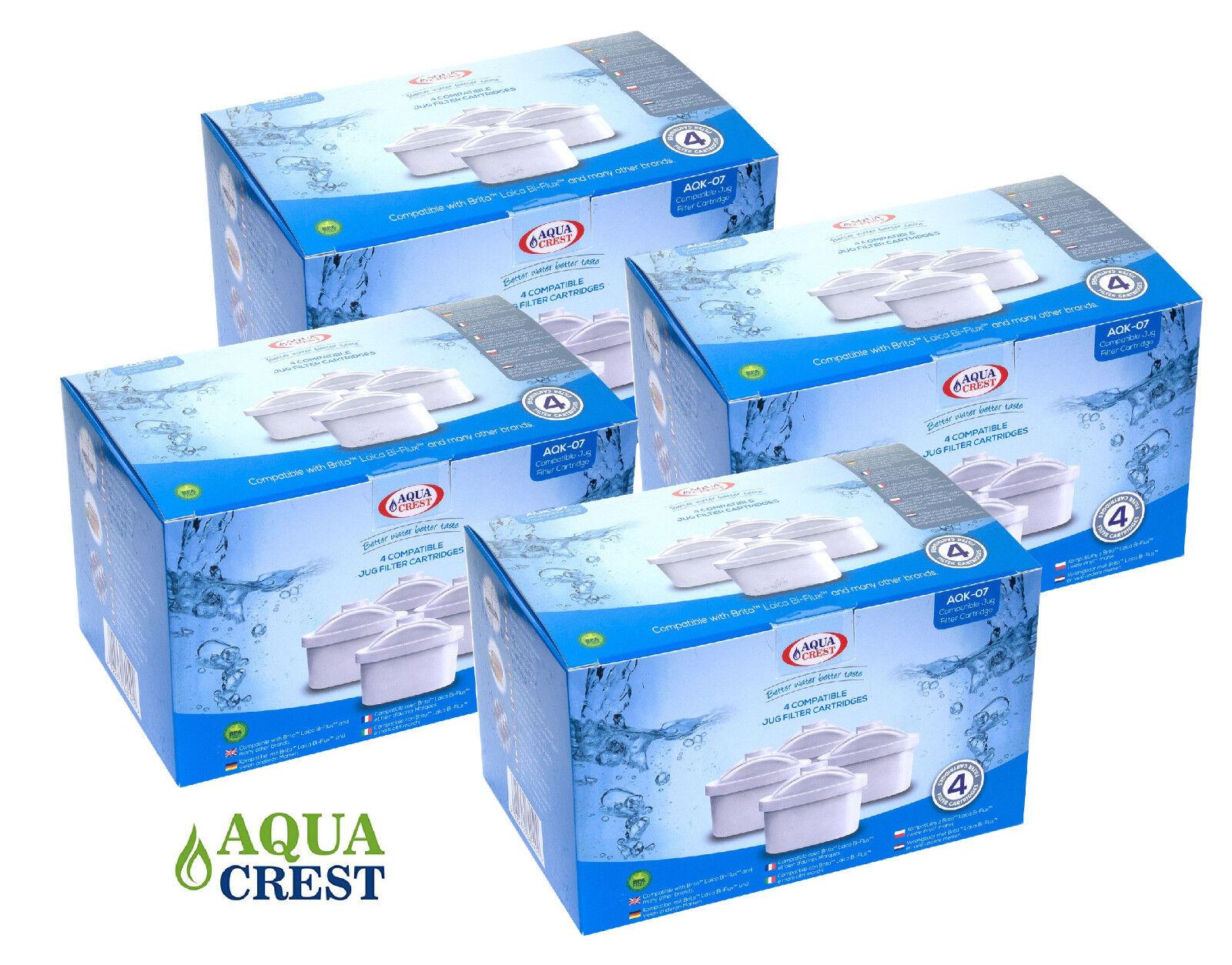 16 x aquacrest aqk-07 per Bosch Tassimo sostituire BRITA MAXTRA Filtro acqua