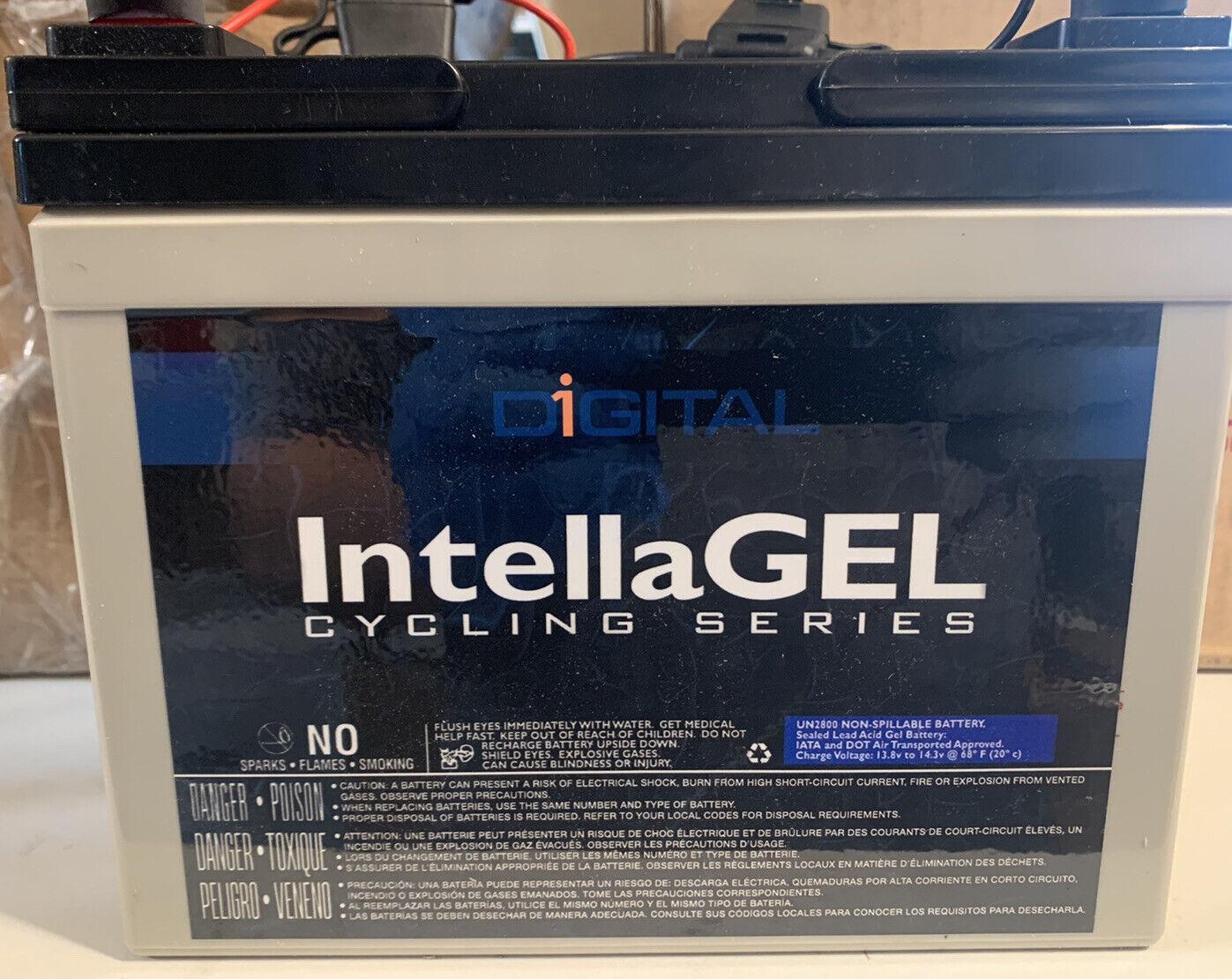(2 PACK) INTELLAGEL NP33-12B 12V 33Ah lot Sealed rechargeable lead acid battery
