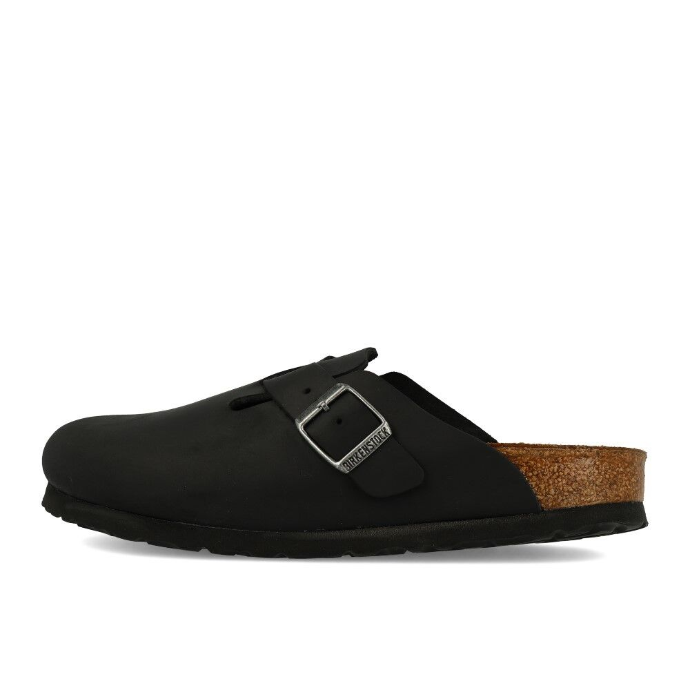 Birkenstock boston fl negro sandalias zapatos Clogs sandalias Black