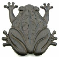 Cast Iron Frog Stepping Stone Stones Home Decor Garden Art Wall, New, Free Shipp on sale