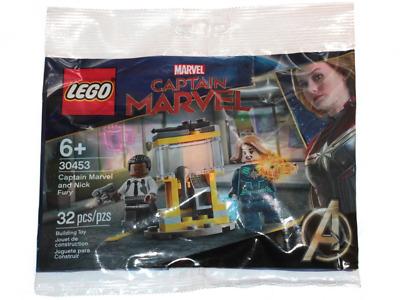 Polybag New Flash Sale LEGO MARVEL Avengers 30453 Captain Marvel /& Nick Fury