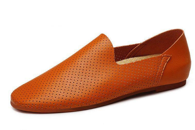 4 Color Vogue Size Size Size 5-12 Pelle Slip On Uomo Dress Flats Loafers Shoes Oxfords 5ac5b1
