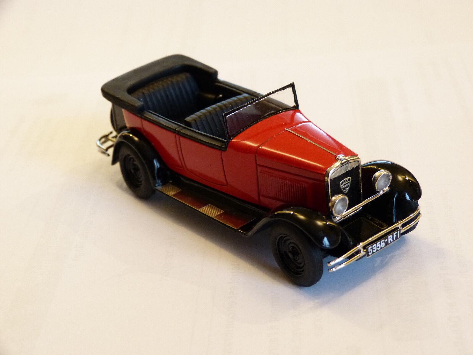 Kit per Miniatura Auto Ccc  Peugeot 183 le 12   Six Torpédo 1928 Référence 215 A