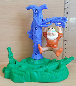 McDonalds-Happy-Meal-Toy-2001-Snow-White-amp-Seven-Dwarves-Plastic-Toys-Various