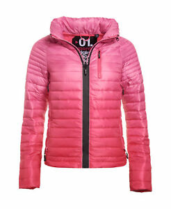 Superdry-Mujer-Chaqueta-degradada-Power-Hazard-Rosado
