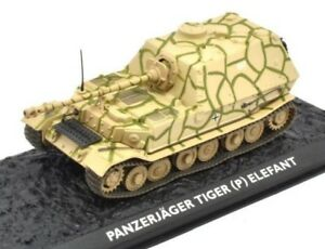 P ELEFANT Scala 1:72 #G117 Atlas Ultimate TankPANZERJÄGER TIGER