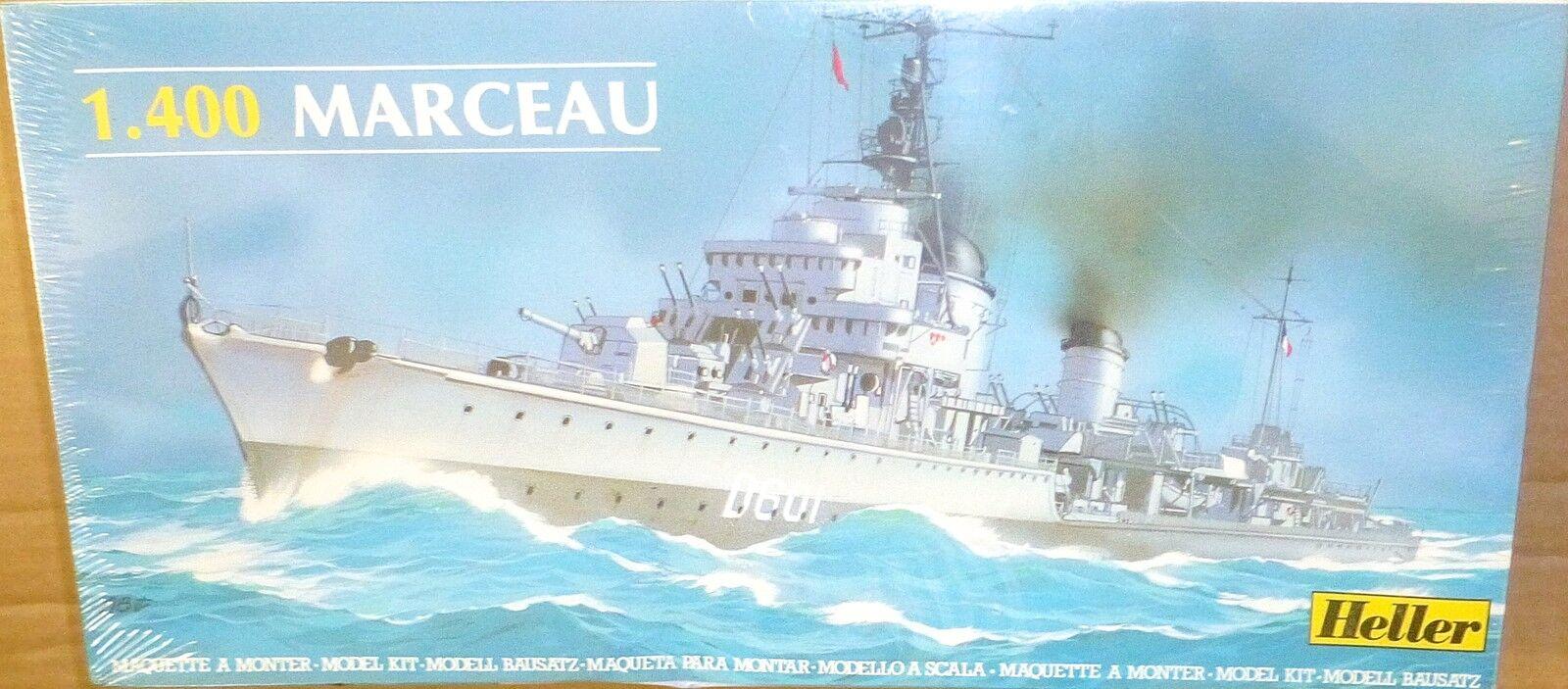 Destroyer Marceau Ex Z31 Rebuilt Kit Heller 81009 New 1 400 HX1 Å