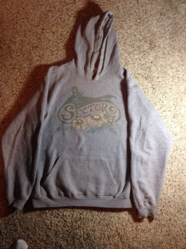 9 Large Pockets In With Front Graphic Sector Gray Hoodie Ked Pullover HZnRRdq
