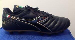 5f6f633cbf9 Diadora Brasil Classic MD PU soccer futbol cleats shoes Kangaroo ...