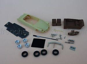 Il Rare Voiture Citroën Ds Chapron Palm Beach 1/43 Heco Miniatures Resine