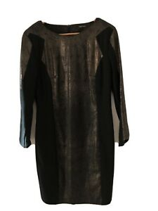 Stunning-Apriori-By-ESCADA-Black-Dress-Sz-M-RRP-885-As-New