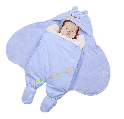 Baby Infant Swaddle Swaddling Warm Blanket Wrap Sleepsacks Sleeping Bag Bedding