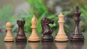 Weighted-Staunton-Chess-Set-Pieces-Rose-Wood-w-o-Board