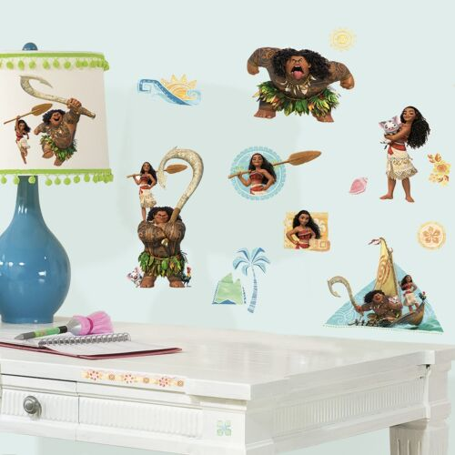 RoomMates Disney Moana 25 pcs Peel and Stick Wall Decals 49830