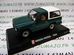 AP24N-voiture-1-43-AUTOPLUS-IXO-4X4-NISSAN-Patrol-1984-vert-et-blanc