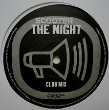 "12"" DE**SCOOTER - THE NIGHT (CLUB MIX) (SHEFFIELD TUNES '03)***23341"