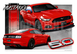 Image Is Loading   Ford Mustang Gt Art Prints From