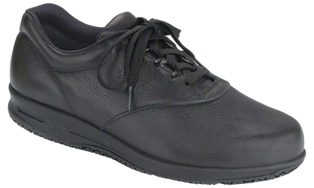 SAS Women's shoes Liberty Slip-Resistant Black 10.5 WW Double Wide FREE SHIPPING