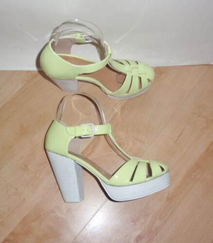 various sizes NEW Schuh ladies MY BOO PATENT patent heeled summer shoes