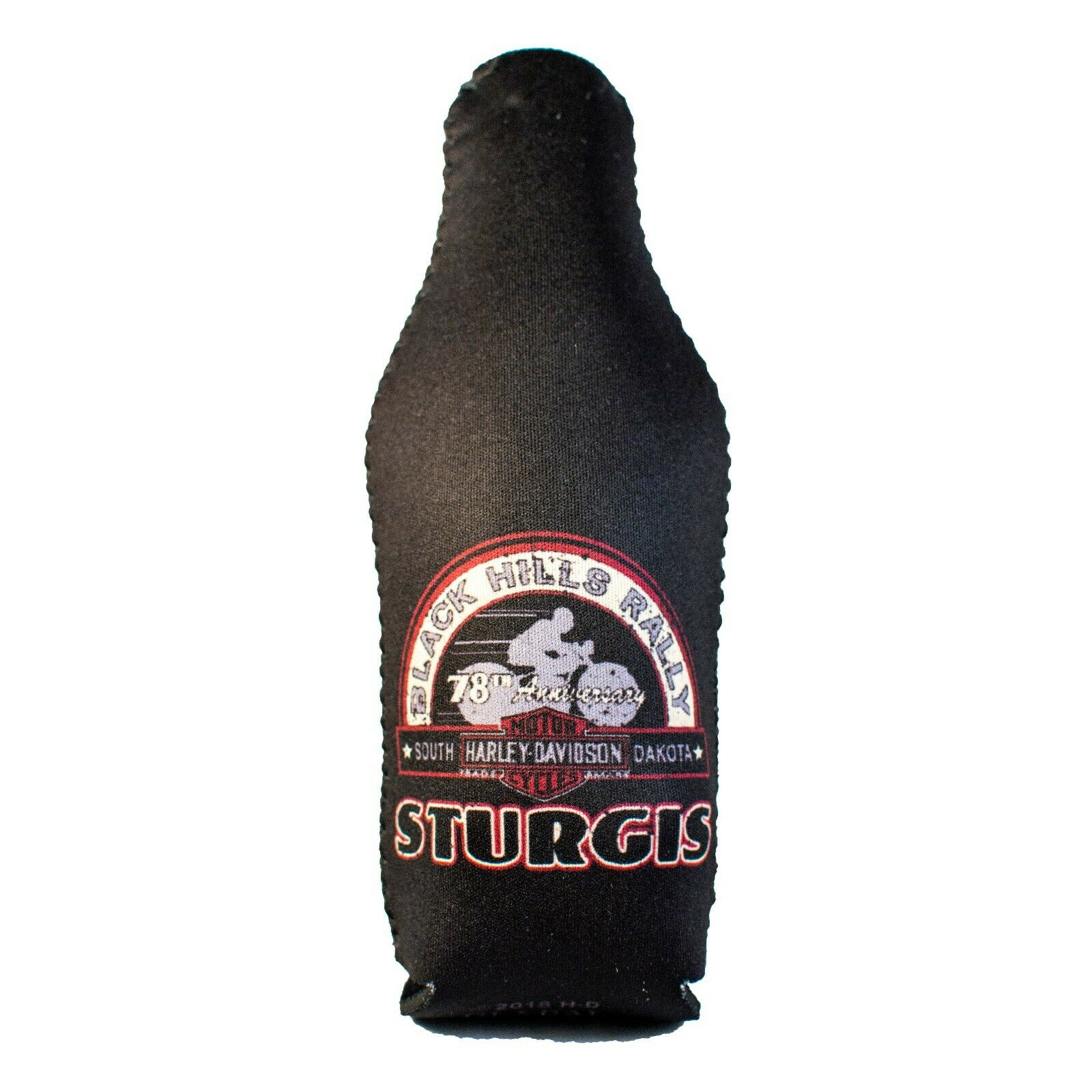 HARLEY-DAVIDSON Sturgis Patriotic Zip Bottle Coozie