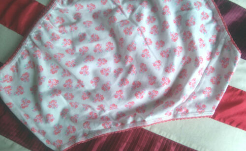 M/&S PINK WHITE FLORAL HI-RISE COTTON BRIEF FOR ELASTANE COMFORT /& FIT SIZES 8-16