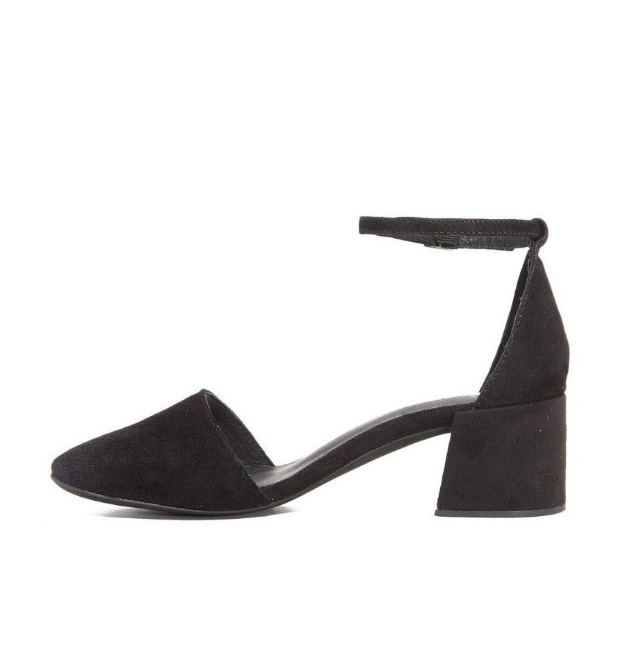 miglior reputazione Jeffrey Campbell Parisa Parisa Parisa nero Suede Heels Sandals scarpe 9.5  Felice shopping
