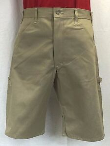 New STAN RAY Men's Long Khaki Twill Carpenter Shorts 14
