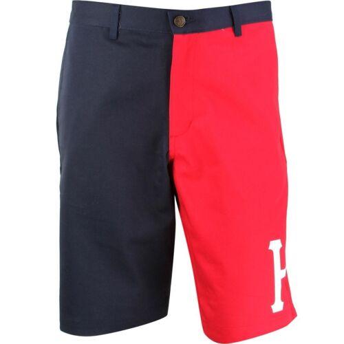 HUF Men Alumni Shorts navy red