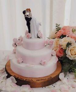 Gateau de mariage rustique